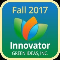 Badge 2017 Innovator Green Ideas