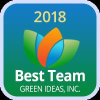 Badge 2018 Best Team Green Ideas